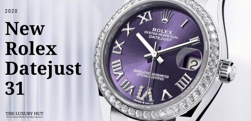 rolex datejust 31 watches