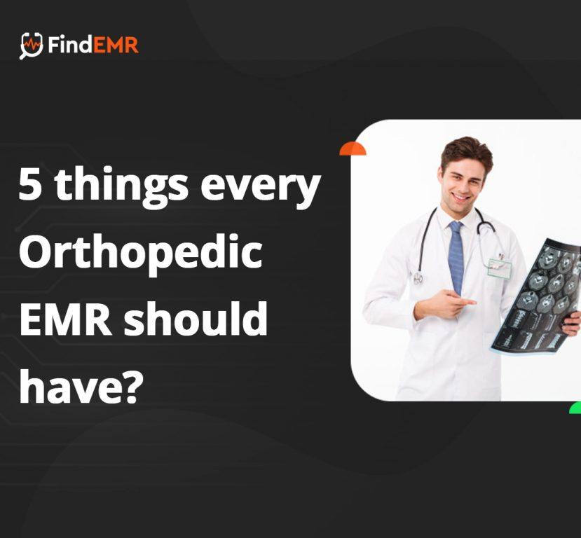 Orthopedic EMR reviews