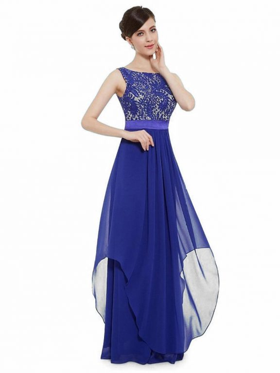 shestar wholesale elegant chiffon evening dress
