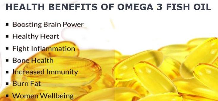 Benefits of Omega 3 Fish Oils