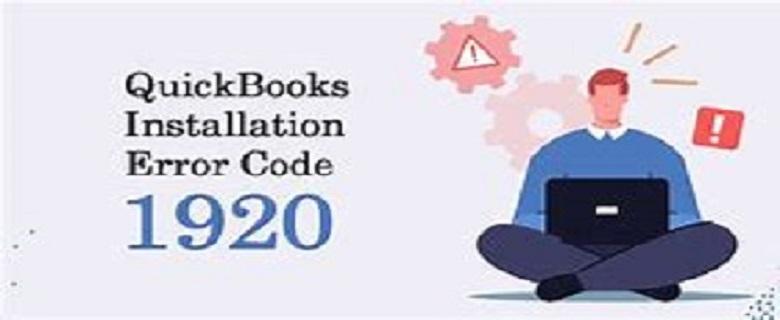 QuickBooks Installation Error Code 1920