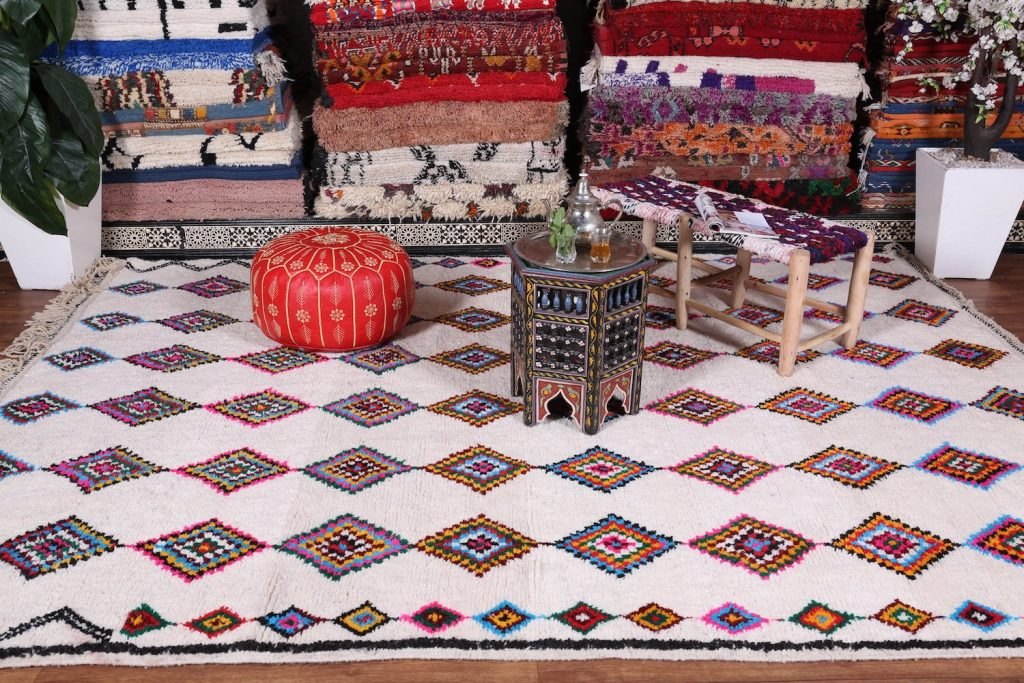 Buying a Berber Rug From Morocco