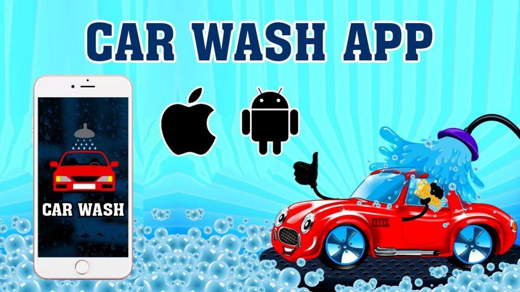 mobile app car wash app