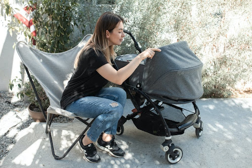 child's safety in a stroller